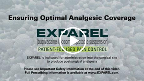 Ensuring optimal analgesic coverage